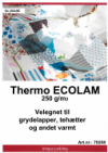 Thermo ECOLAM 200x90 cm i pose